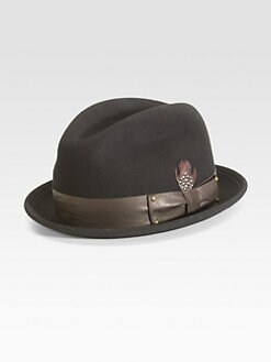 Mr. KIM by Eugenia Kim - Lake Wool Felt Porkpie Hat