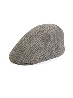 Mr. KIM by Eugenia Kim - Jimmy Plaid Wool Driving Cap