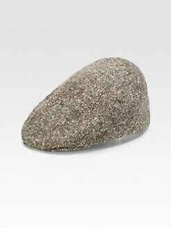 Mr. KIM by Eugenia Kim - Jimmy Speckled Wool Tweed Driving Cap