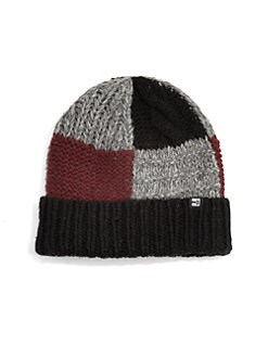 Block Headwear - Byrnes Patchwork Beanie