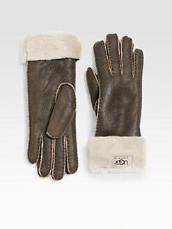 UGG Australia - Shearling Turn-Cuff Gloves
