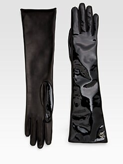Gucci - Patent Leather Gloves