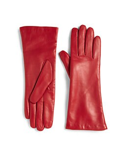 Saks Fifth Avenue Collection - Leather Gloves