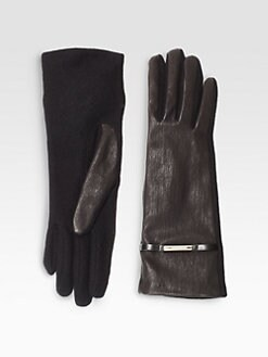 Burberry - Jenny Leather Gloves