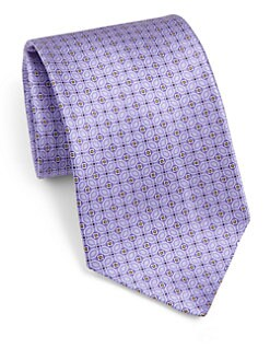 Brioni - Printed Silk Tie