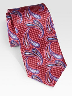 Brioni - Paisley Print Tie