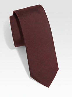 BOSS Black - Solid Silk Tie