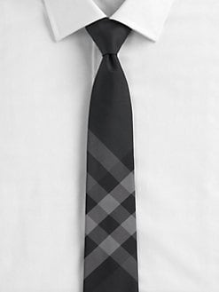 Burberry London - Beat Check Silk Tie