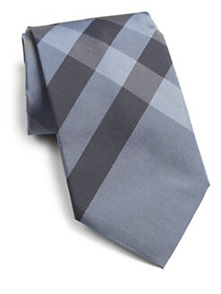 Burberry London - Check Silk Tie