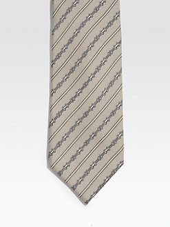 Gucci - Stripe Print Tie