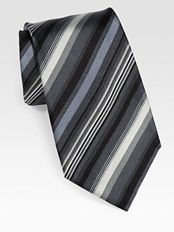 Paul Smith - Multi-Stripe Silk Tie