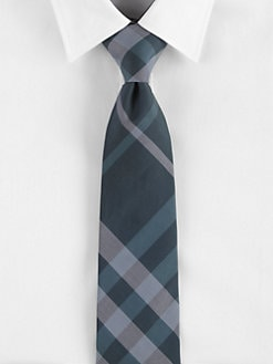 Burberry London - Malachite Check Tie