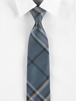 Burberry London - Pale Iris Check Tie