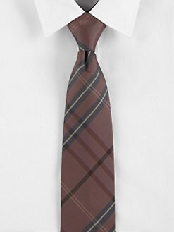 Burberry London - Coral Check Tie