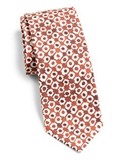 Burberry London - Printed Cotton-Blend Tie