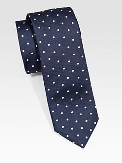 BOSS Black - Traditional Silk Dot Tie