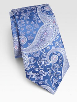 Ike Behar - Royal Paisley Silk Tie