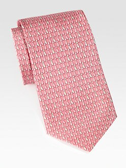 Salvatore Ferragamo - Opera Silk Tie