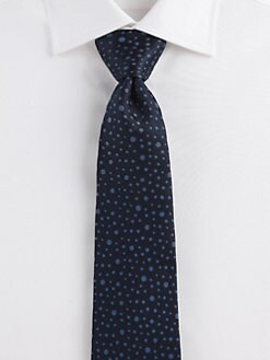Salvatore Ferragamo - Dot Silk Tie
