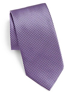 Brioni - Micro Dot Neat Print Tie