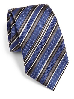 Brioni - Diagonal Stripe Tie