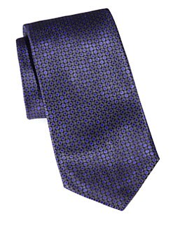 Brioni - Printed Neat Silk Tie