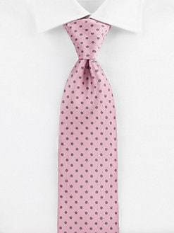 Brioni - Mini Dot Silk Tie