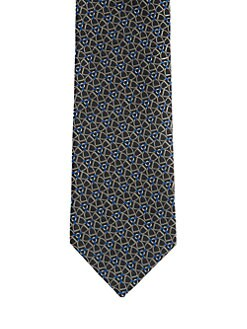 Gucci - Antero Pinwheel Silk Tie