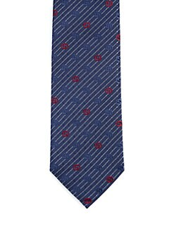 Gucci - Theo GG Logo Tie