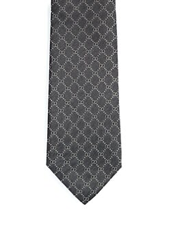 Gucci - Fantin Diamante GG Silk Tie