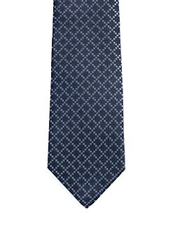 Gucci - Briac Diamante Silk Tie