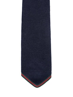 Gucci - Carlotta Silk Knit Tie