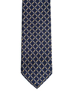 Gucci - Elisea Diamante GG Silk Tie