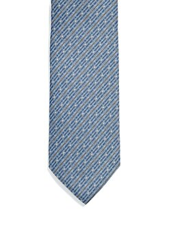 Gucci - Norina Mini Horsebit Silk Tie
