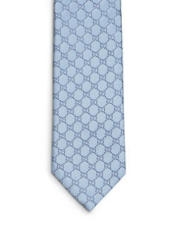 Gucci - Fendin Bold GG Print Tie