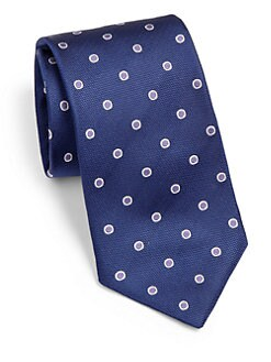 BOSS Black - Framed Dot Silk Tie
