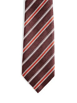 Gucci - Striped Silk Tie