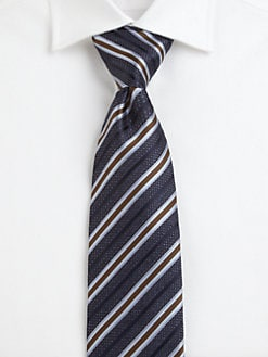 Brioni - Seasonal Stripe Silk Tie