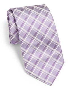 BOSS Black - Plaid Silk Tie