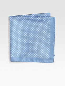 BOSS Black - Polka-Dot Pocket Square