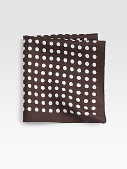 BOSS Black - Polka Dot Pocket Square