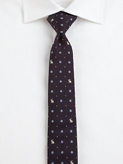 Paul Smith - Medallion Silk Tie
