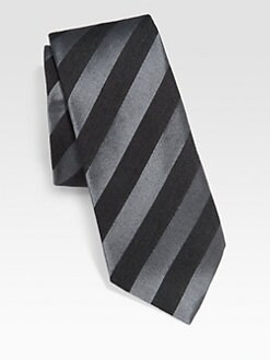Paul Smith - Narrow Stripe Silk Tie
