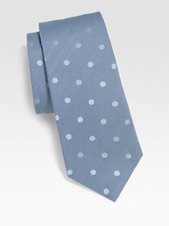 Paul Smith - Dot Print Silk Tie