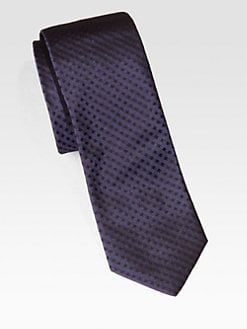 BOSS Black - Square Print Silk Tie