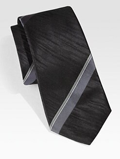 BOSS Black - Striped Silk Tie
