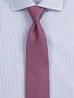 BOSS Black - Dot Print Tie