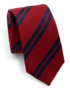 Eton of Sweden - Double Stripe Tie