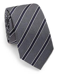 Eton of Sweden - Striped Silk Tie