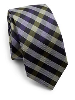 Eton of Sweden - Plaid Silk Tie